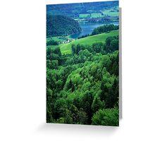 Lake Wolfgangsee Greeting Card