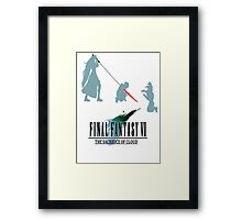Final Fantasy VII The Sacrifice Of Cloud Framed Print