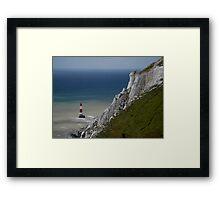 Lighthouse, Beachy Head Framed Print