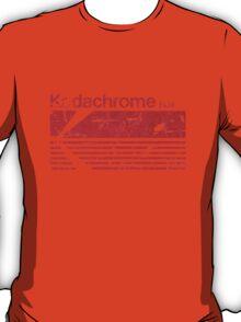 Vintage Photography: Kodak Kodachrome - Red T-Shirt