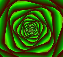 Green Spiral by Objowl