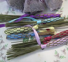 farmers market lavender bundles by Laurkat
