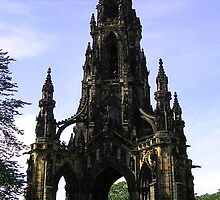 The Scott Monument,  Edinburgh by Allan McKean