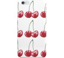 Watercolor Cherries!! iPhone Case/Skin