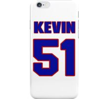 National football player Kevin Hancock jersey 51 iPhone Case/Skin