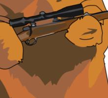 GunBear Sticker