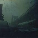 Brooklyn Bridge Tintype Photograph by ShellyKay