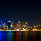 Sydney by Night by David Geoffrey Gosling (Dave Gosling)