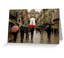 Lisboa Greeting Card