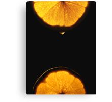 A Drop of Sunshine Canvas Print