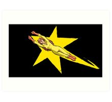 Print of the Week - A Firestar is Born Art Print