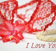 I Love You Card by kukana-kards