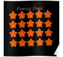 Princess Venus, Sailor Venus, sailor moon Orange star locket  Poster