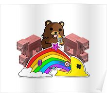 RAINBOW-BEAR Poster
