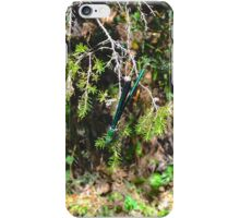Green Dragonfly iPhone Case/Skin