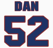 National football player Dan McGrew jersey 52 by imsport