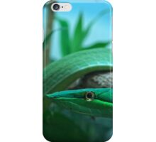 Green Tree Snake iPhone Case/Skin