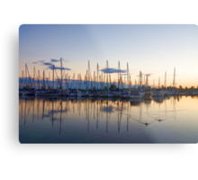 Yachts and Sailboats - Lake Ontario Impressions Metal Print