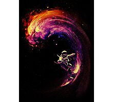Space Surfing Photographic Print