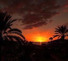 Costa Adeje Sunset by Lynne Morris