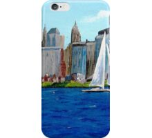 SAILING ON THE HUDSON iPhone Case/Skin