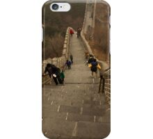 The Great Wall Of China At Badaling - 5 - The Insanity © iPhone Case/Skin