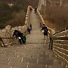The Great Wall Of China At Badaling - 5 - The Insanity © by © Hany G. Jadaa © Prince John Photography