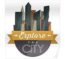 City Explorer Poster