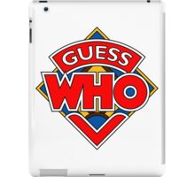 """""""Guess Who"""" Design iPad Case/Skin"""