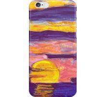 Golden Sunset2 iPhone Case/Skin