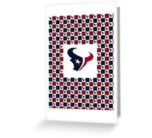 Houston Texans-TWIN Duvet Cover, Posters, Pillows, Tote Bags, Phone Cases, IPad Cases, Laptop Skins, or Mugs Greeting Card