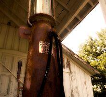 gas pump, Alchie VA by D. W.  Batterman