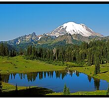 MT. RAINER, WASHINGTON STATE, USA by YELLOWJACKET