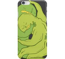 Some problems can't be scratched iPhone Case/Skin