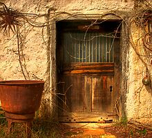 Door and Bowl by Hans Kawitzki
