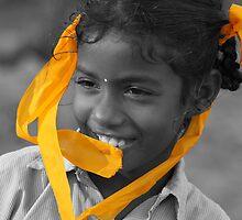 Saffron Ribbons 2 by HeidiEPlummer