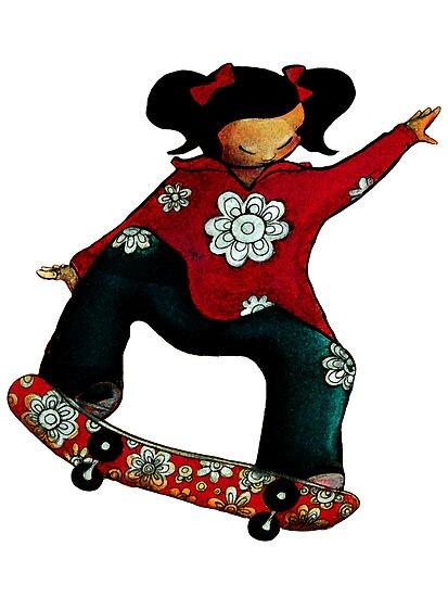 Skater Girl by © Karin  Taylor