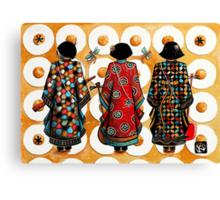 Tang Court Trio Musicians Canvas Print