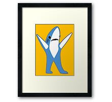 Katy Perry Half Time Performance Dancing Tsundere the Shark Framed Print
