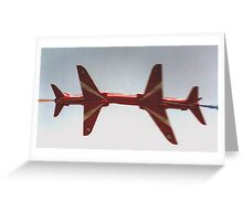 The Red Arrows - Close Pass Greeting Card