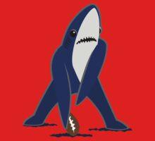 Katy Perry Dancing Tsundere the Shark - Patriots Logo Style by shirtsforshirts