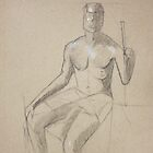 Figure Drawing by Christina Rodriguez