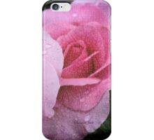 Raindrops on Roses ~ Yesterday's Tears iPhone Case/Skin