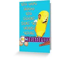 Omeletteville Greeting Card
