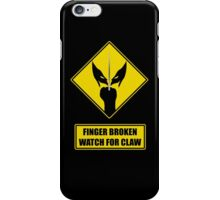 Watch for claw V.1 iPhone Case/Skin