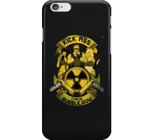 Kick Ass and Chew Bubble Gum! iPhone Case/Skin