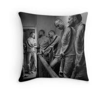 Please hurry up! Throw Pillow