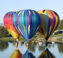 HOT AIR BALLOONS' by MsLiz
