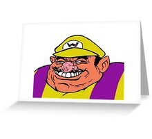 Wario! Greeting Card