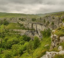 Malham Cove by Stewart Laker